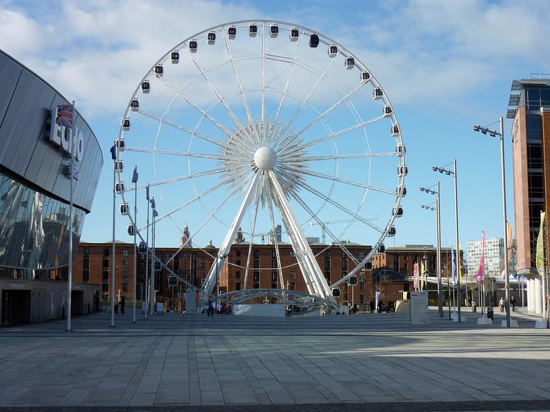 The Big Wheel-Liverpool Atrena 2010