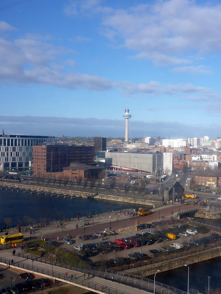 Liverpool 1 & The Tower from the Big Wheel