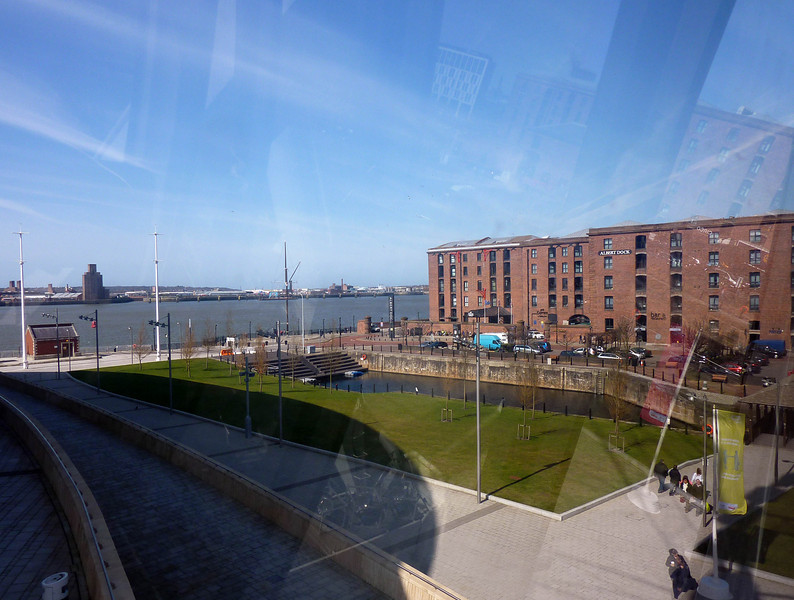 In the wheel with Mary- Albert dock
