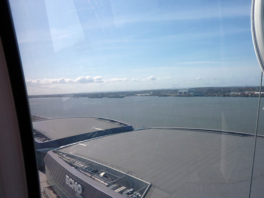 Top of the Echo Arena from the Big Wheel