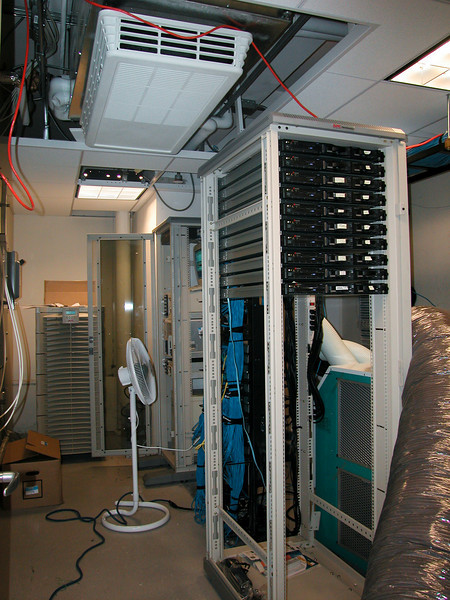 Fine example of DM's idea of a quality server room
