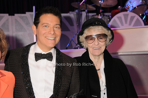 Michael Feinstein, Elaine Stritch<br /> photo by Rob Rich © 2010 robwayne1@aol.com 516-676-3939