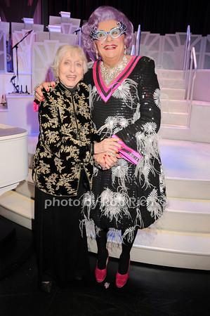 Celeste Holm, Dame Edna<br /> photo by Rob Rich © 2010 robwayne1@aol.com 516-676-3939