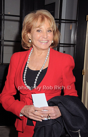 Barbara Walters<br /> photo by Rob Rich © 2010 robwayne1@aol.com 516-676-3939