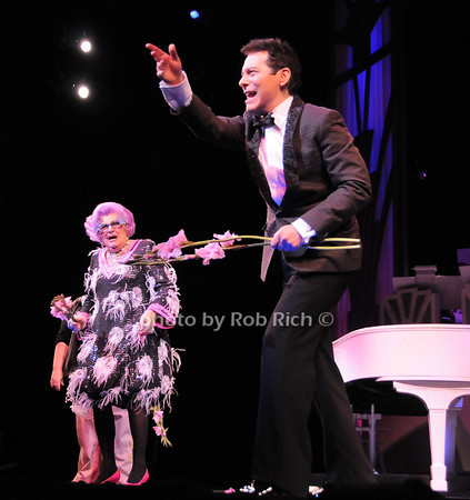Dame Edna, Michael  <br /> photo by Rob Rich © 2010 robwayne1@aol.com 516-676-3939