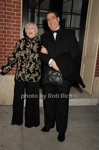 Celeste Holm, Frank Basile photo by Rob Rich © 2010 robwayne1@aol.com 516-676-3939
