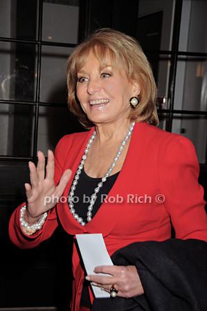 Barbara Walters<br /> photo by Rob Rich © 2010 robwayne1@aol.com 516-676-3939