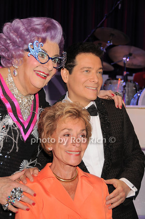 Dame Edna, Judge Judy, Micael Feinstein<br /> photo by Rob Rich © 2010 robwayne1@aol.com 516-676-3939