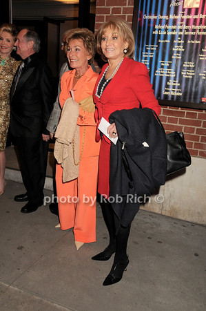 Judge Judy Sheindlin, Barbara Walters<br /> photo by Rob Rich © 2010 robwayne1@aol.com 516-676-3939