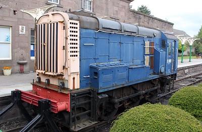 Class 08_D3059 (08046) at Brechin    25/06/11