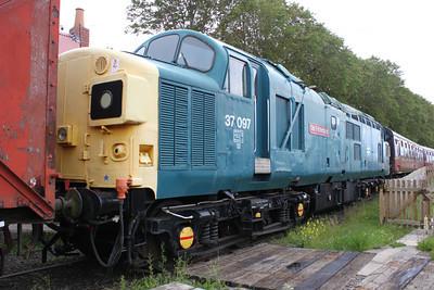 37097  at Bridge of Dun on the Caledonian Railway