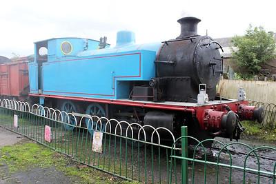 Andrew Barclay 0-6-0T 2107 'Harlaxton' Brechin, Caledonian Railway 25/06/11.