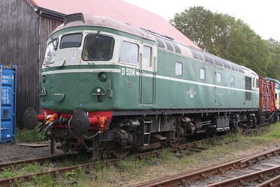 D5314 (26014)  at Bridge of Dun on the Caledonian Railway