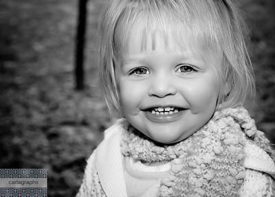 Sara Close Up Happy bw (1 of 1)