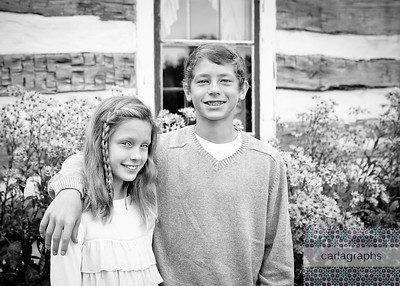 Josh and Maggie House bw (1 of 1)