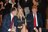 Governor Jon Corzine, Ivanka Trump, Donald Trump<br /> - photo by Rob Rich © 2008 516-676-3939 robwayne1@aol.com