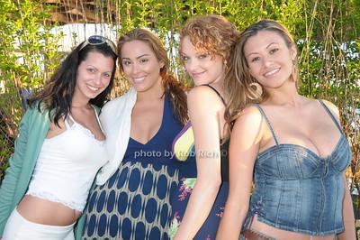 Joey Love, Jennifer Maitland, Angelique, Celeste Crawford photo by Rob Rich © 2009 robwayne1@aol.com 516-676-3939