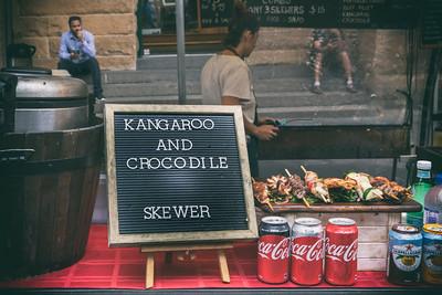 Kangaroo and Crocodile