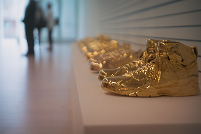 Gold Shoes - This photo is not for sale