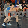 2014 The Clash Bracket 4 Round 1: Mediapolis defeated Woodbury Central 60-18<br /> 126 - Lane Nichols (Woodbury Central) over Cody McNeil (Mediapolis) Dec 3-2