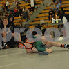 The Battle - Quarterfinal: Mediapolis defeated West Fargo 38-24<br /> 106 - Jared Franek (West Fargo) over Brock Hilton (Mediapolis) TF 18-3
