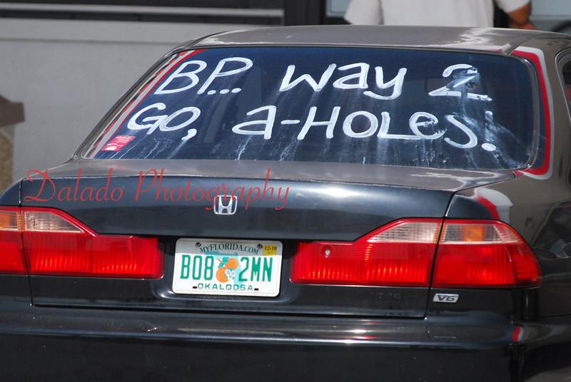 BP Oil Spill- The next several photos were taken in 2011 near Pensacola, Florida.