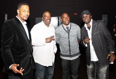 Comedians: Cuz (1L) Prescott (2L) Rodman (2R) Marvin Dixon (1R)