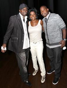 Marvin Dixon (L) Linda M.(M) Rodman (R)