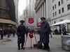 with Steven & Luke near the Stock Exchange on Wall Street