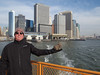with Cary from Iowa on the Staten Island Ferry