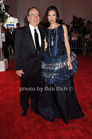 Rupert Murdoch, Wendi Deng  photo  by Rob Rich © 2008 robwayne1@aol.com 516-676-3939