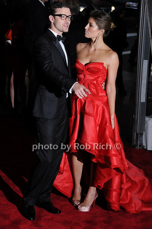 Justin Timberlake, Jessica Biel<br /> photo by Rob Rich © 2009 robwayne1@aol.com 516-676-3939