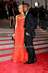 Amber Rose, Kanye West  photo by Rob Rich © 2009 robwayne1@aol.com 516-676-3939