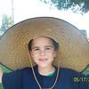 "Everybody got a turn in ""Grandpa Bob's"" sun hat...hysterical"