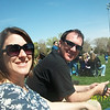 Care & Rob at the boys first baseball game!!