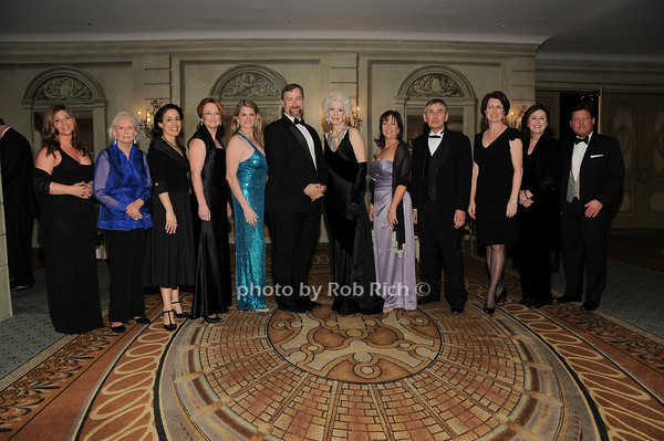 Boardmembers and staff of the Drama League<br />  photo by Rob Rich © 2010 robwayne1@aol.com 516-676-3939