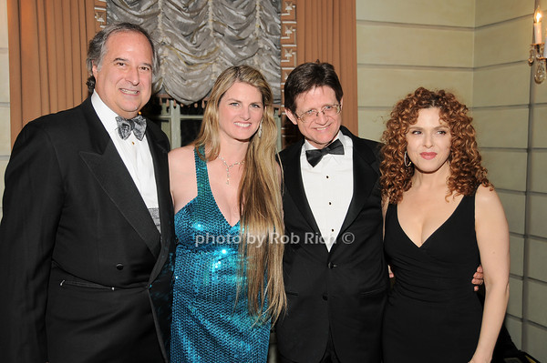 Stewart Lane, Bonnie Comley,Grafton Nunes, Bernadette Peters<br />  photo by Rob Rich © 2010 robwayne1@aol.com 516-676-3939