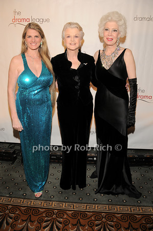 Bonnie Comley, Angela Lansbury, Jano Herbosch<br />  photo by Rob Rich © 2010 robwayne1@aol.com 516-676-3939