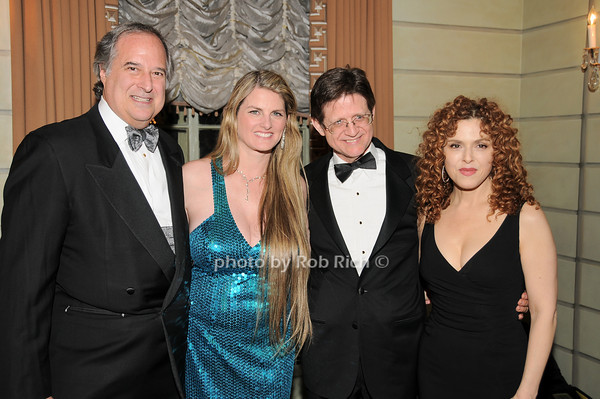 Stewart Lane, Bonnie Comley,Grafton Nunes, Bernadette Peters<br />  photo by Rob Rich © 2010 robwayne1@aol.com 516-676-3939