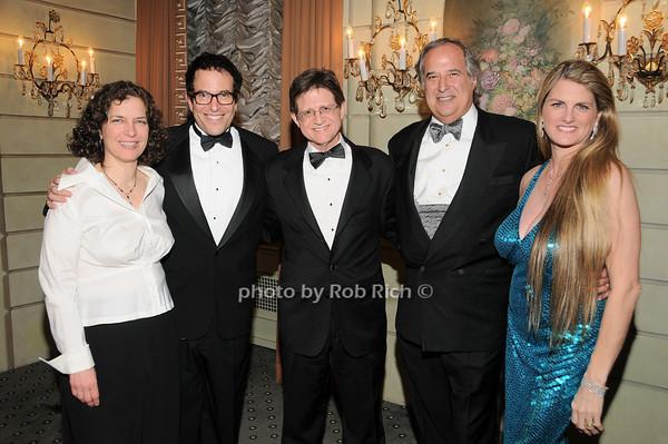 Beatrice Terry, Michael Mayer, Grafton Nunes, Stewart Lane, Bonnie Comley<br />  photo by Rob Rich © 2010 robwayne1@aol.com 516-676-3939