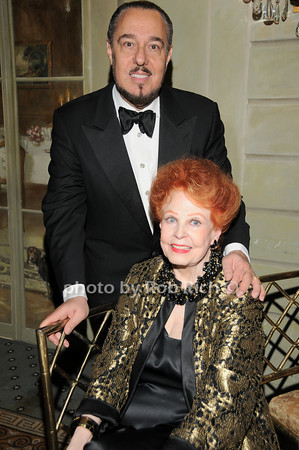 Marc Rosen, Arlene Dahl<br />  photo by Rob Rich © 2010 robwayne1@aol.com 516-676-3939