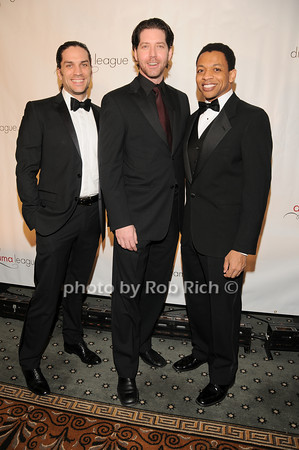 Will Swenson,James Barbour, Derrick Baskin<br />  photo by Rob Rich © 2010 robwayne1@aol.com 516-676-3939