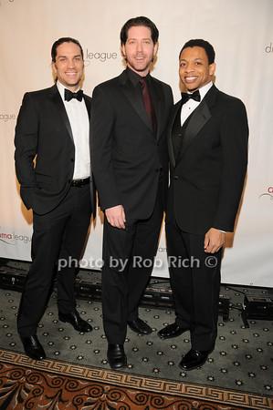 Will Swenson,James Barbour, Derrick Baskin<br />  photo by Rob Rich © 2010 robwayne1@aol.com 516-676-3939
