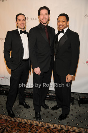 Will Swenson, James Barbour, Derrick Baskin<br /> photo by Rob Rich © 2010 robwayne1@aol.com 516-676-3939