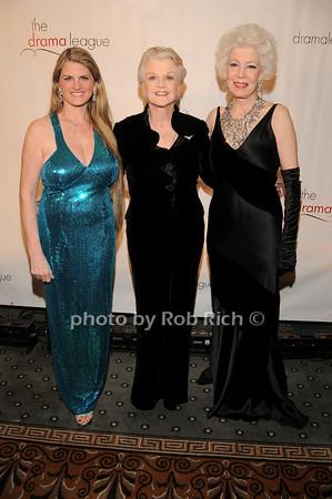 Bonnie Comley, Angela Lansbury, Jano Herbosch<br />  photo by Rob Rich © 2010 robwayne1@aol.com 516-676-3939