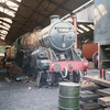 Standard 5MT 73050 under repair at Wansford in Sep 89.