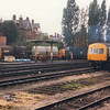 Ipswich fuelling point, to be closed upon electrification, on 01/10/84 with 31250, 37070 & E54396.