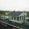 Acle station in November 88.
