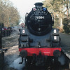 BR4MT  76084, with a Lower Darwin shedplate, runs round at Holt on 06/03/15