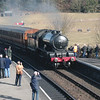 The visiting D49 62712 arrives into Weybourne with the 13 45 Sheringham to Holt on 06/03/15